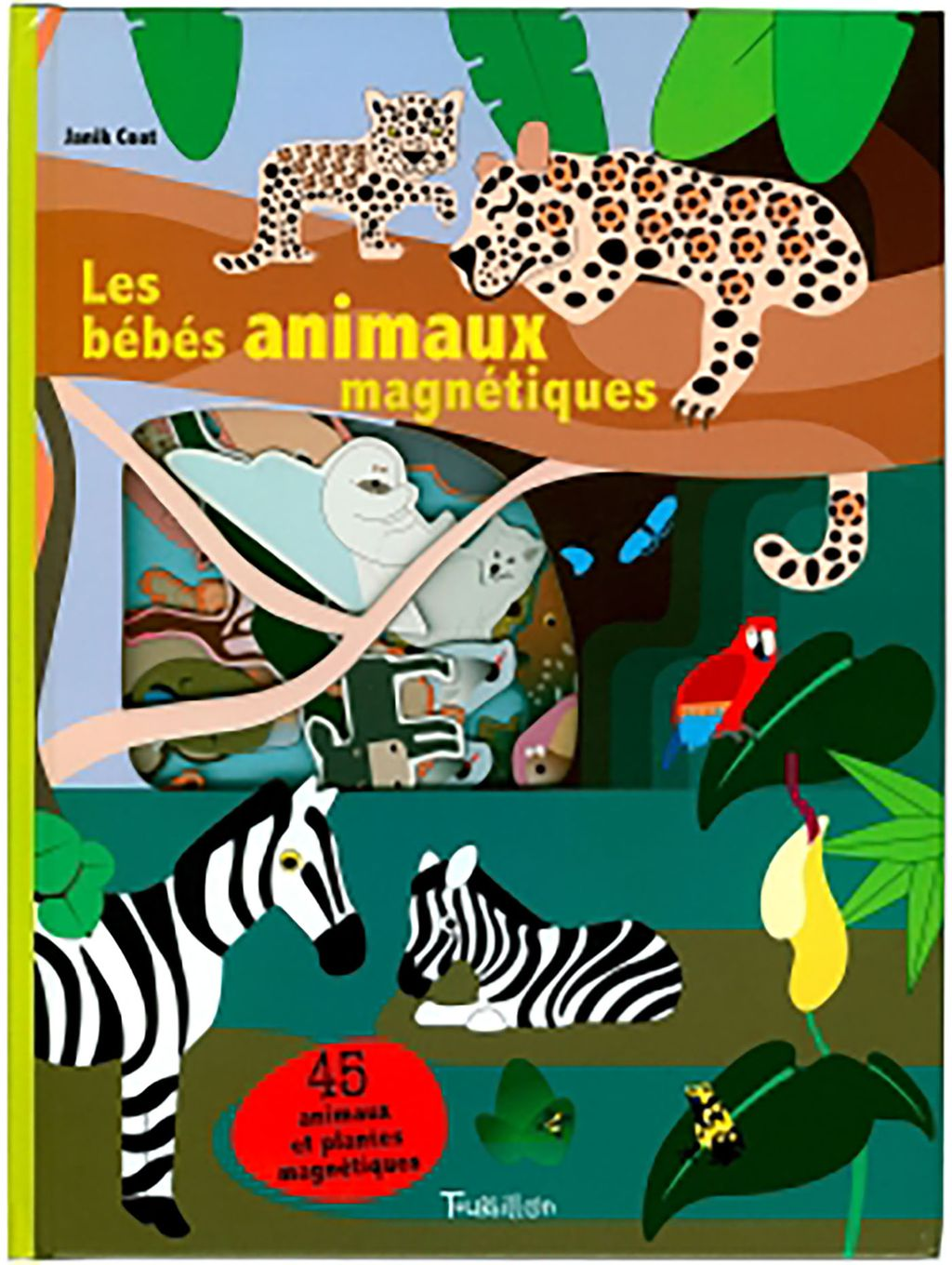 « LES BEBES ANIMAUX MAGNETIQUES » cover