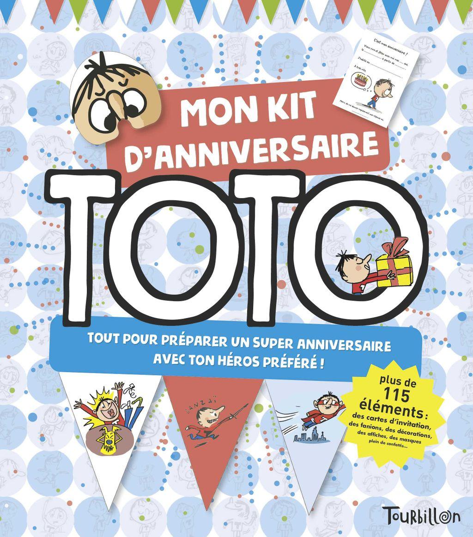 Couverture de «Kit anniversaire Toto»
