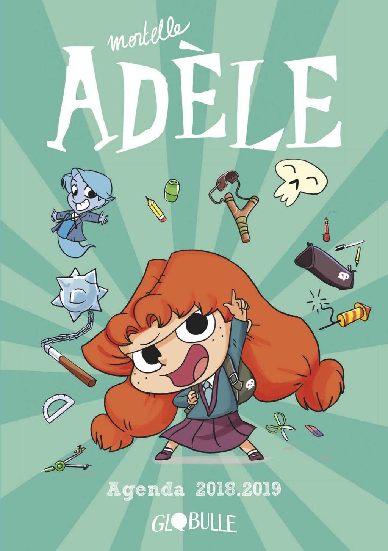 Couverture de «L'agenda Mortelle Adèle»