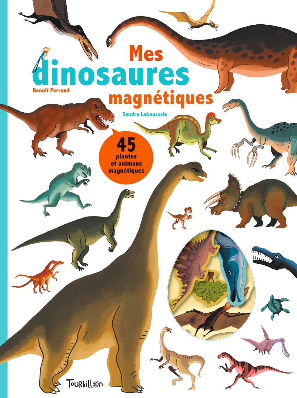 Couverture de «Les dinosaures magnétiques»