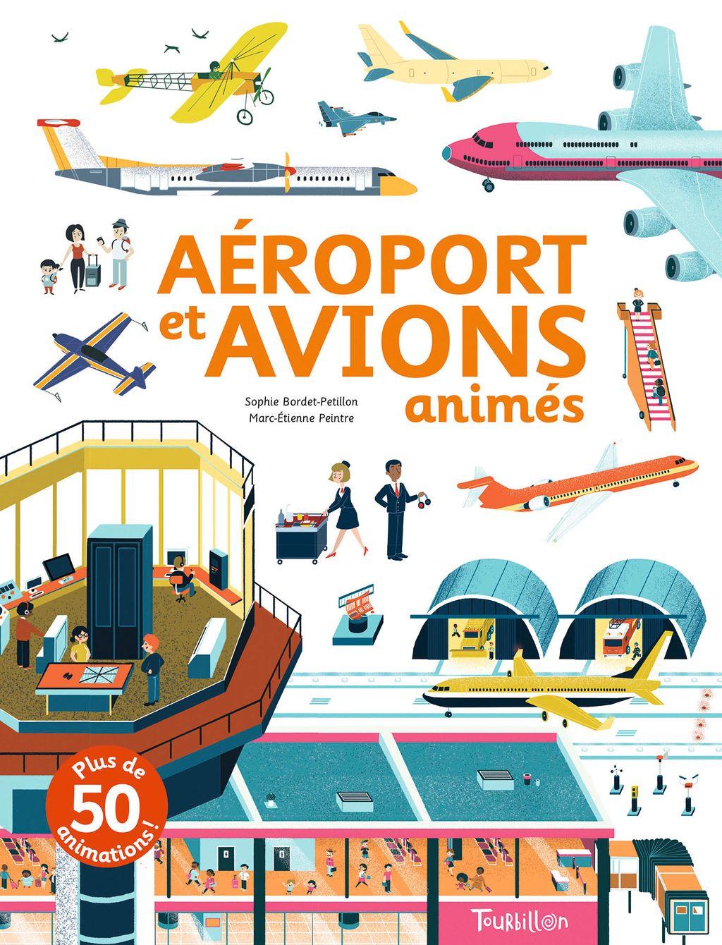 Couverture de «Aéroport et avions animés»