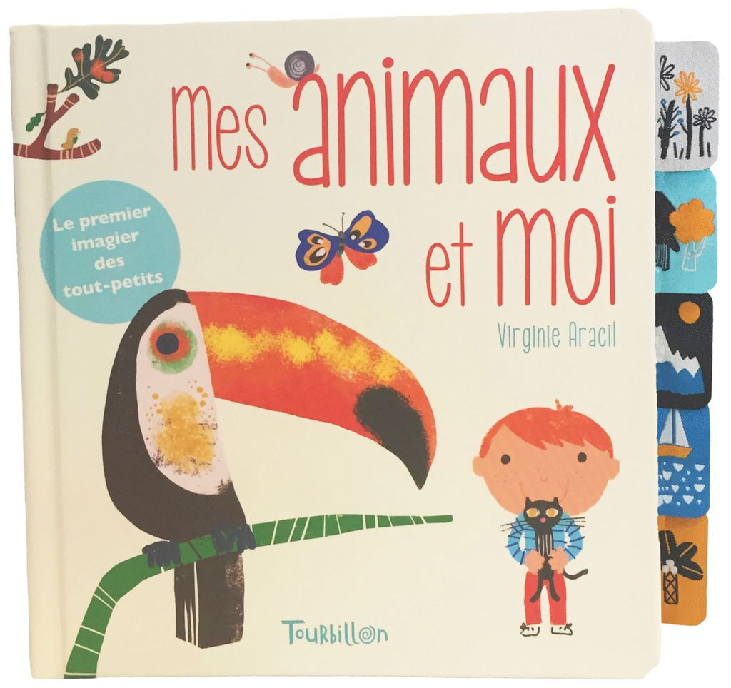 « Mes animaux et moi – Onglets tissu » cover