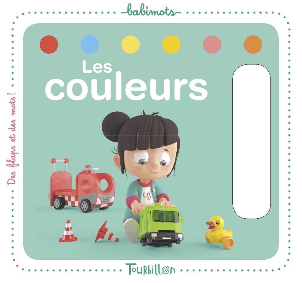 «Les couleurs – Babimots» cover