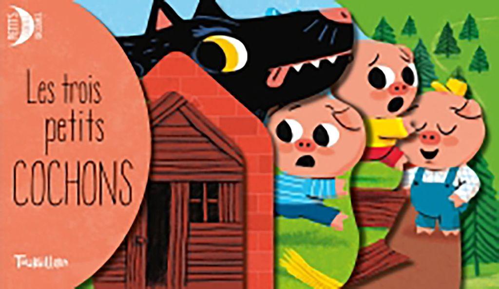 Couverture de «Les 3 petits cochons découpes»