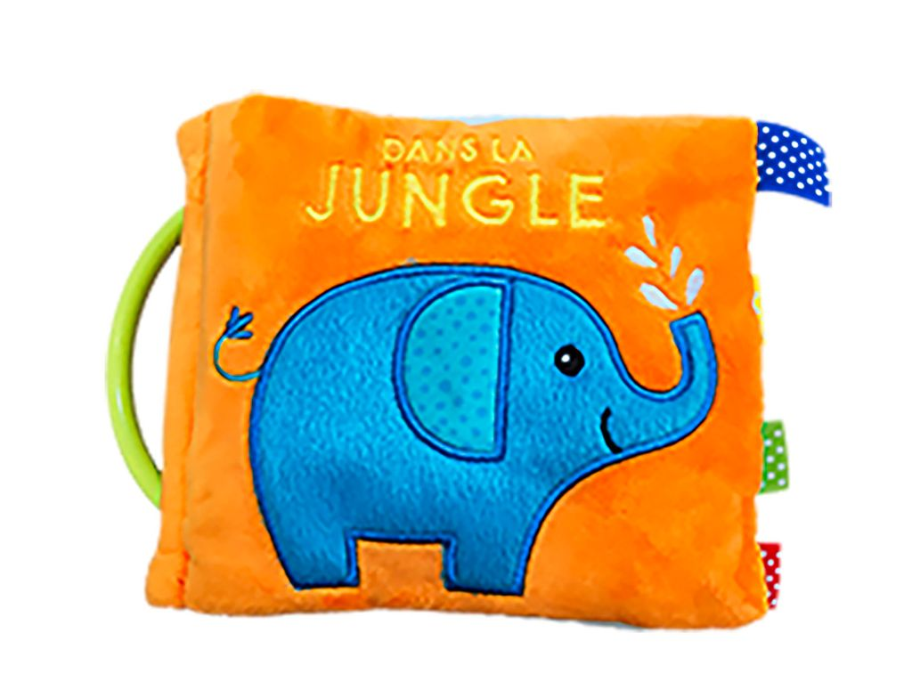 Couverture de «Dans la jungle – Tissu»