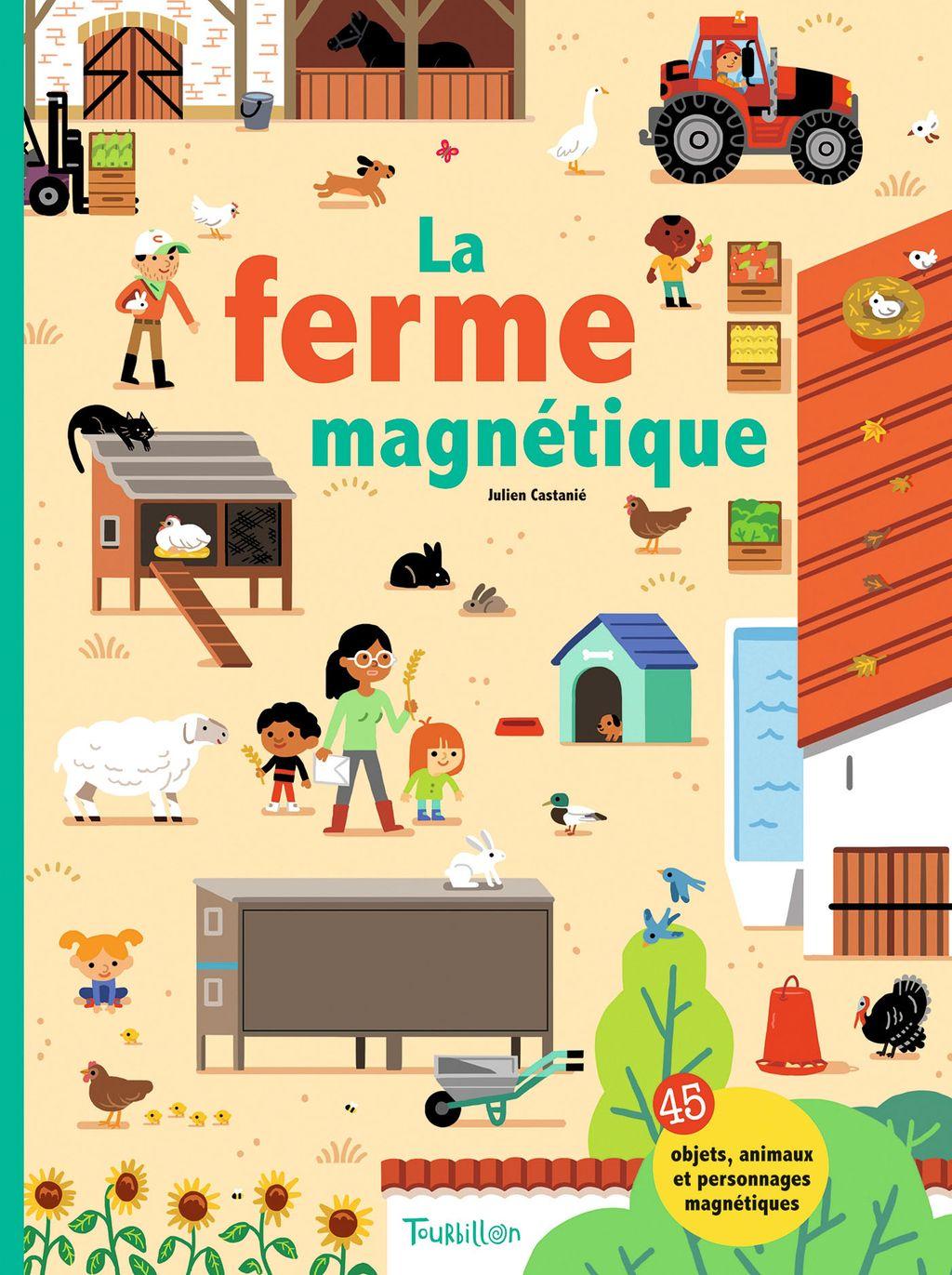 Couverture de «La ferme magnétique»