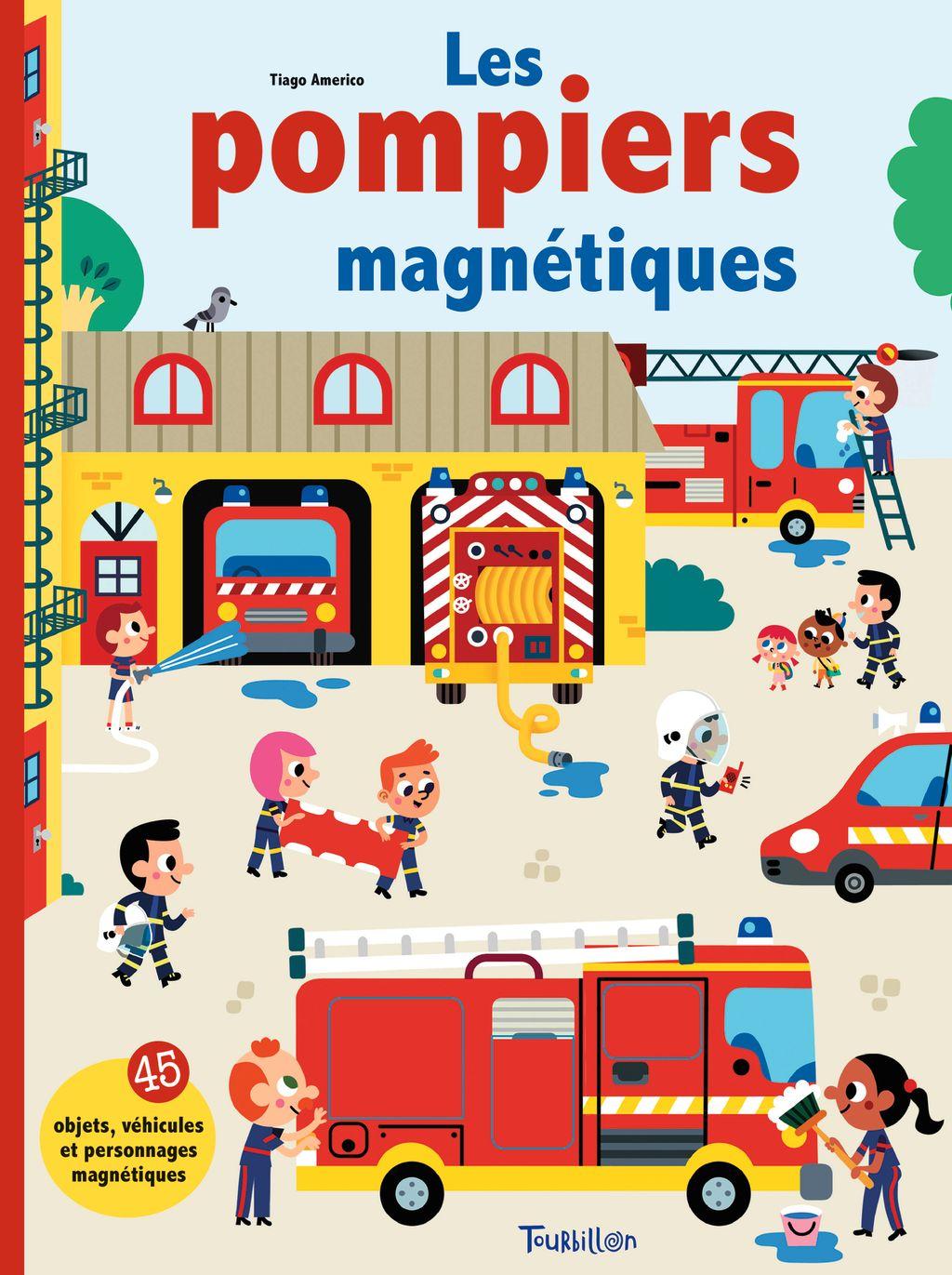 Couverture de «Les pompiers magnétiques»