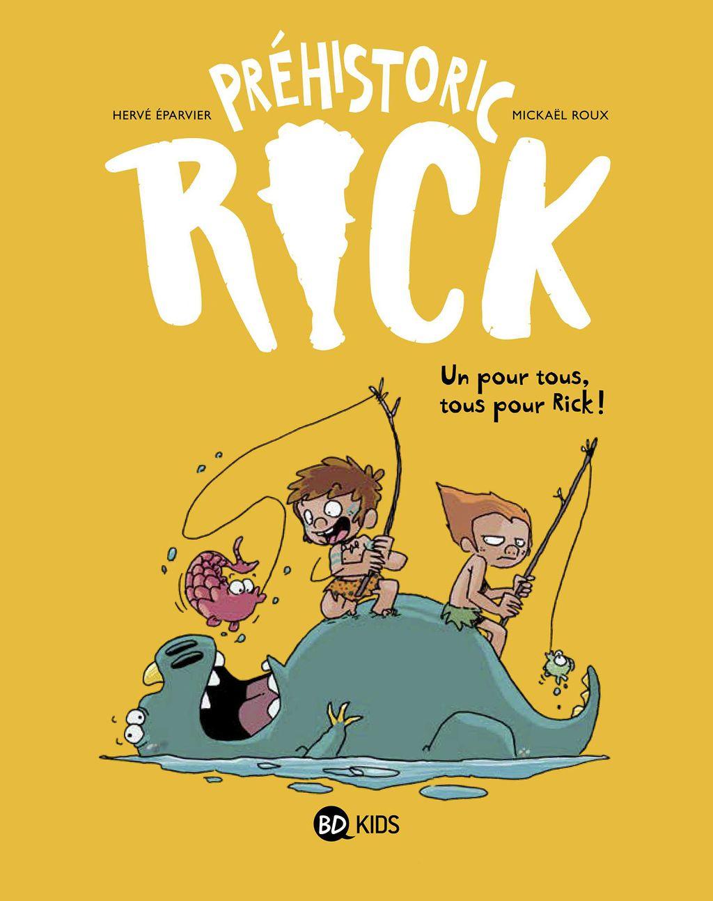 Couverture de «Un pour tous, tous pour Rick !»