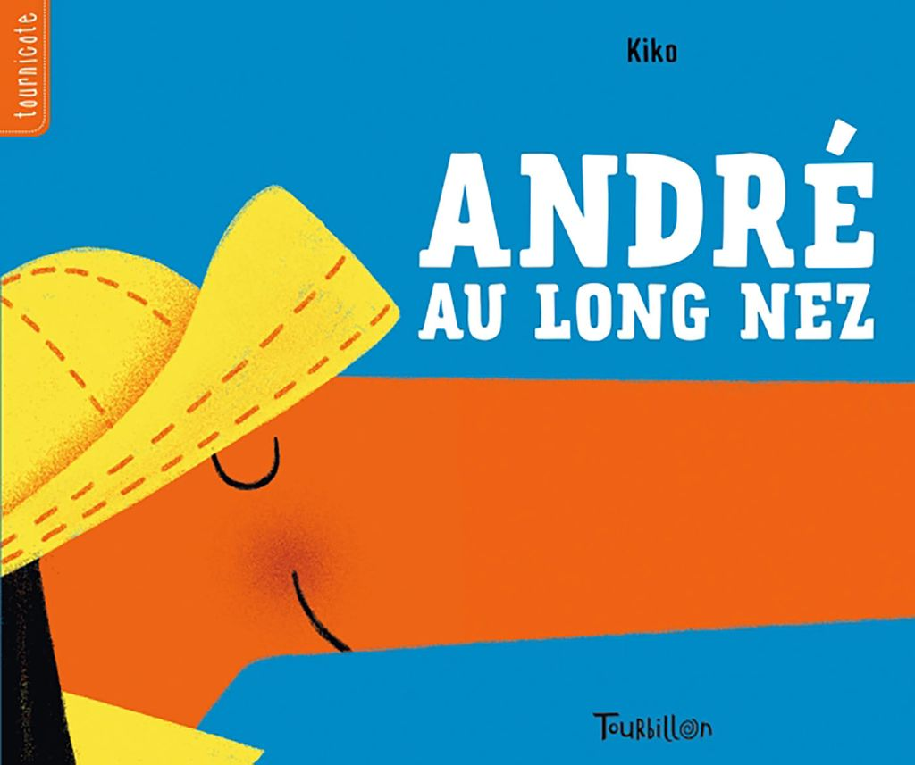 Couverture de « André au long nez »
