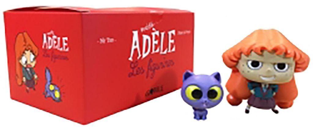 Couverture de «Coffret 2 figurines Mortelle Adèle et Ajax»