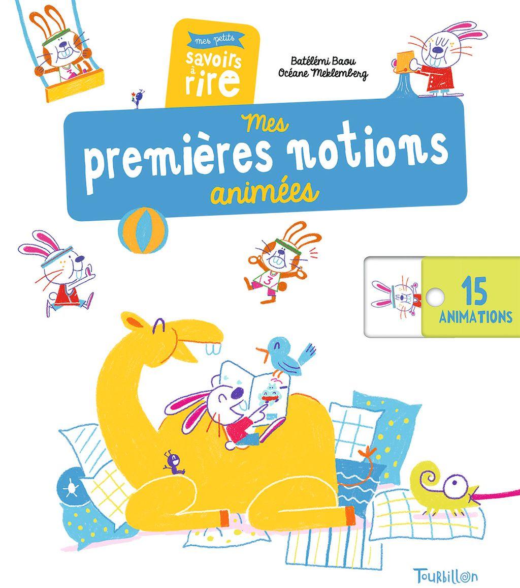 «Mes premières notions animées – Mes petits savoirs à rire» cover