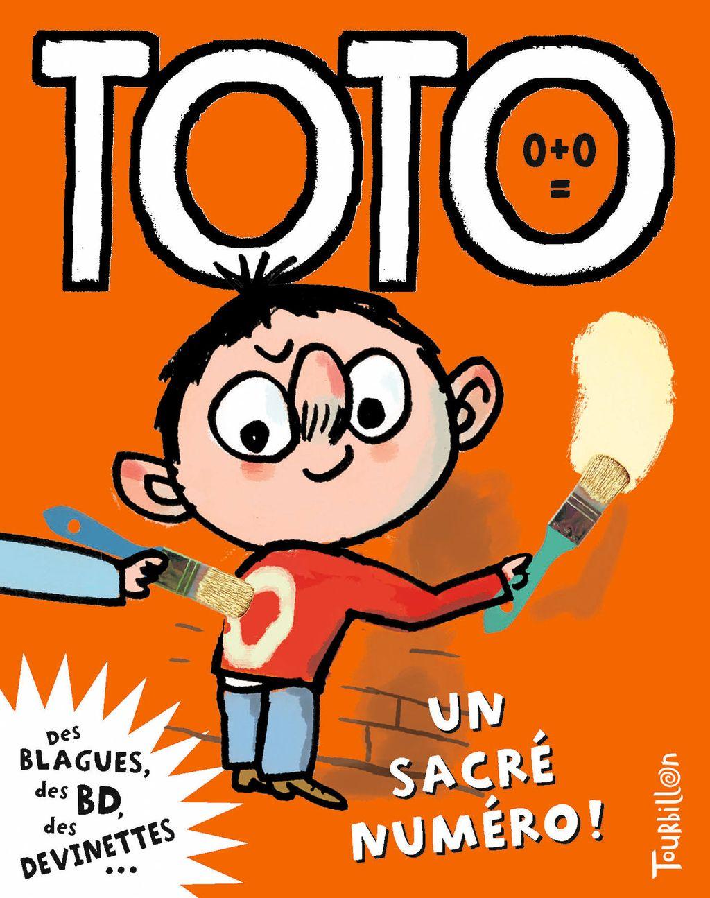 «Toto, un sacré numéro» cover