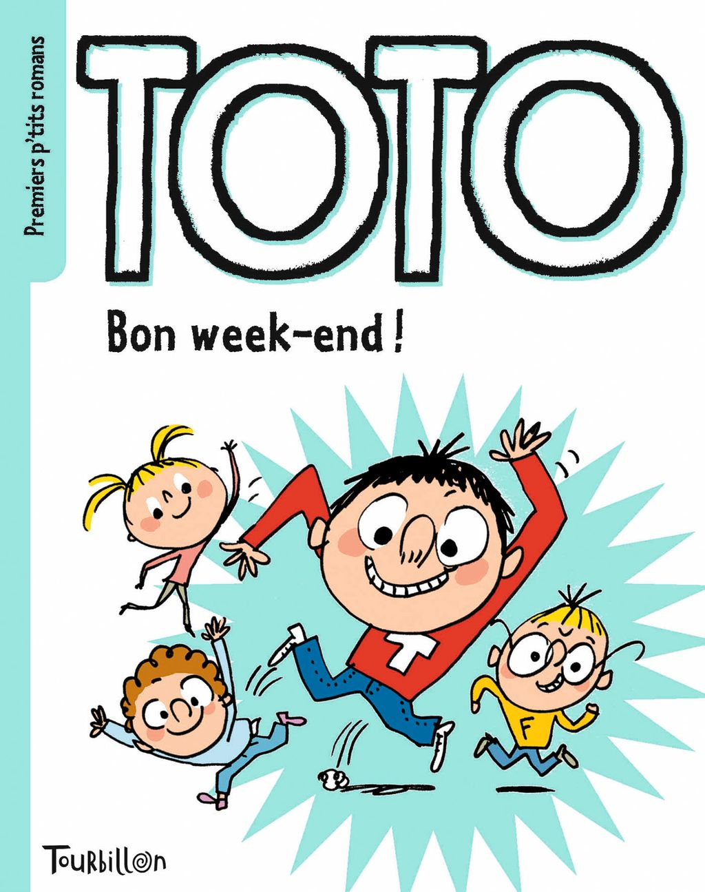 «Bon week-end, Toto» cover