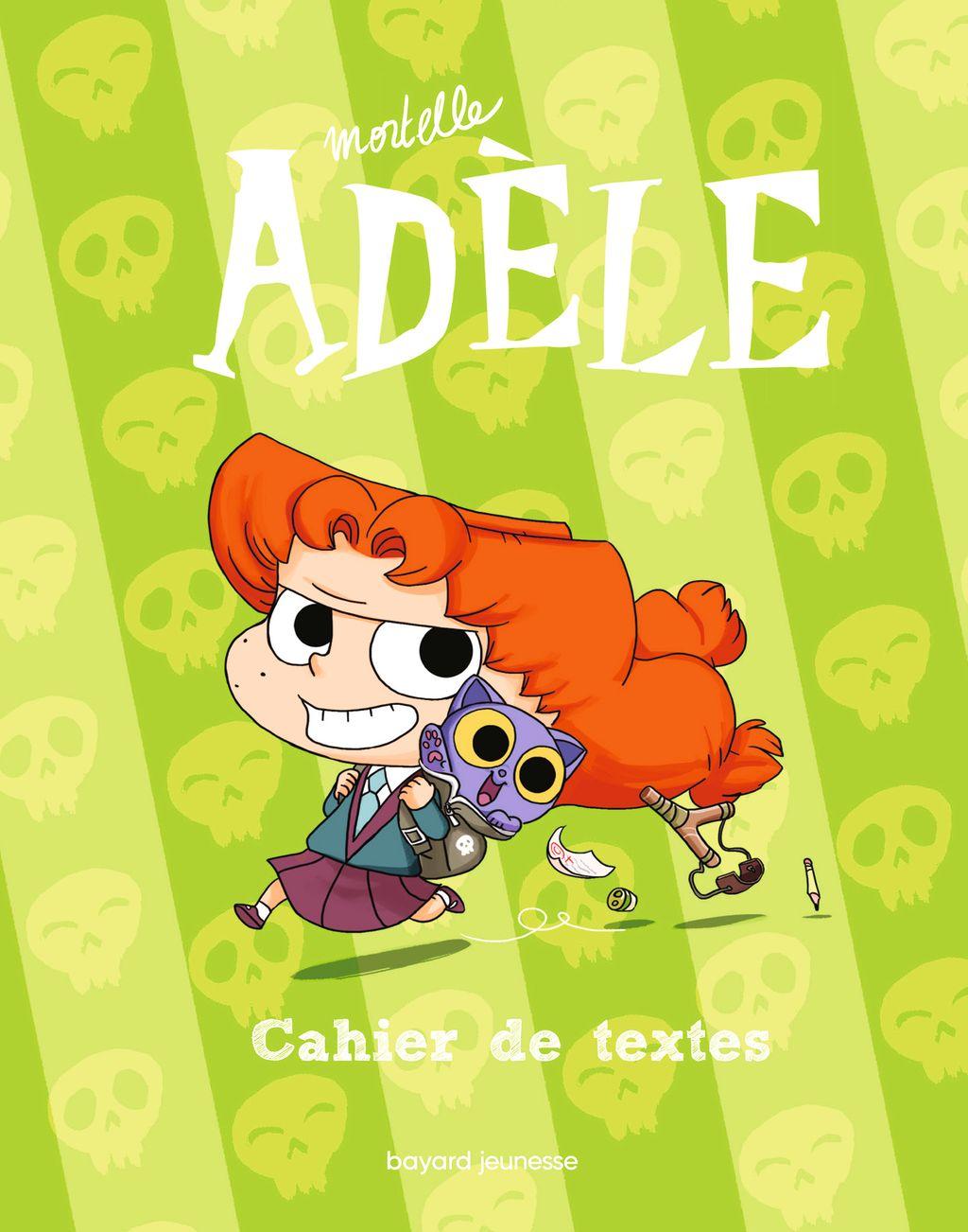 Couverture de «Le cahier de textes Mortelle Adèle»