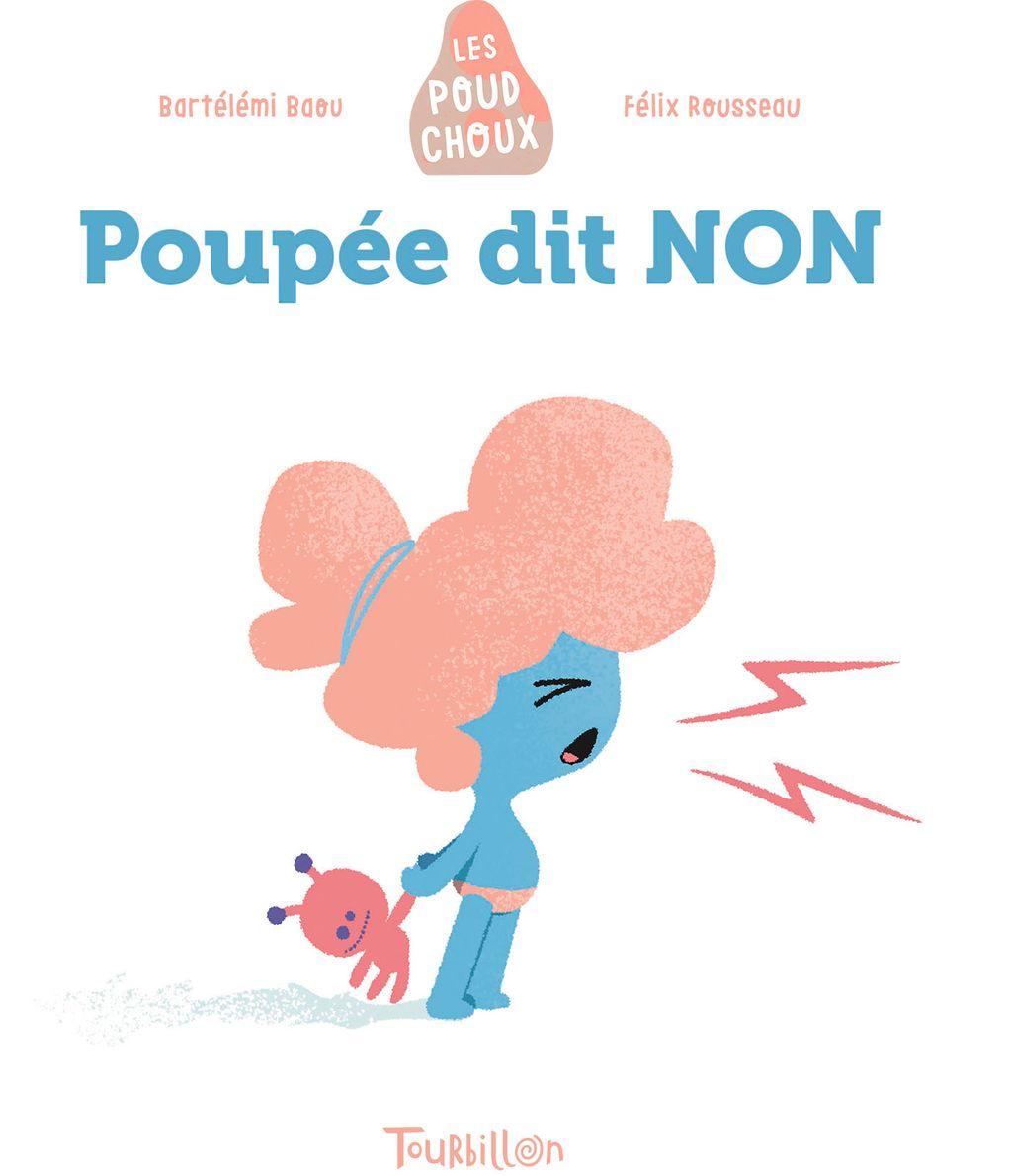 Couverture de «Poupée dit NON – Poudchoux»