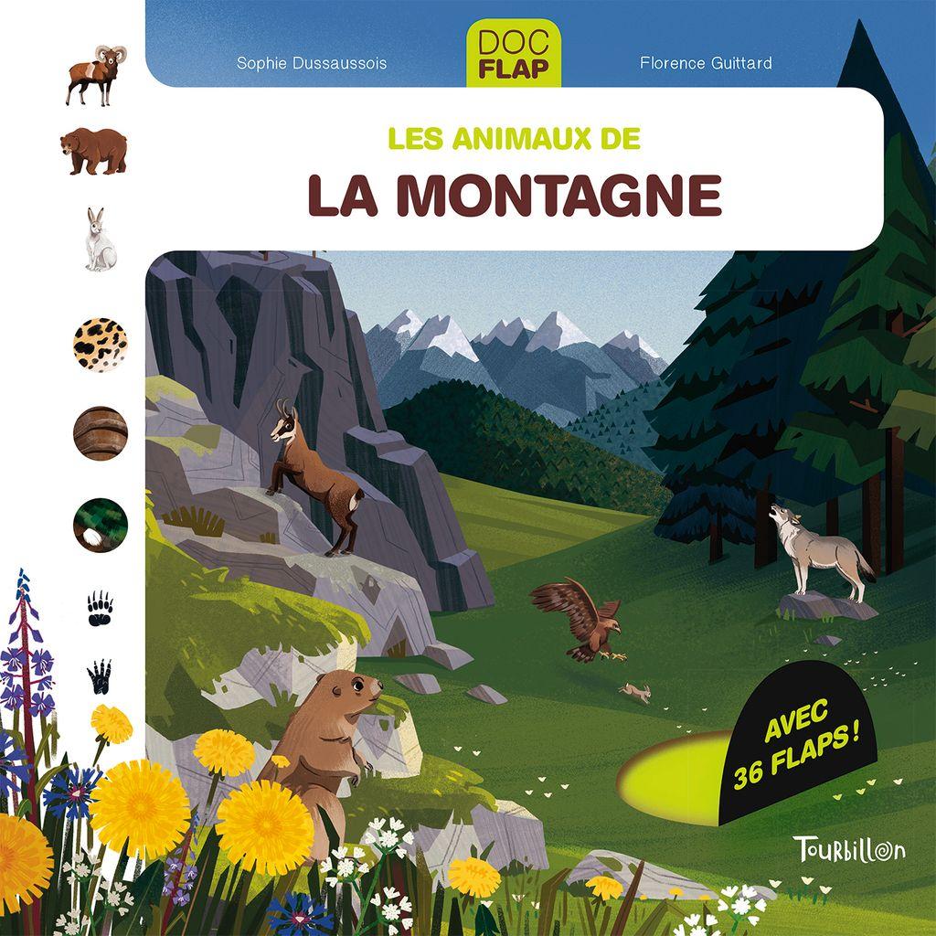 Couverture de «Les animaux de la montagne»