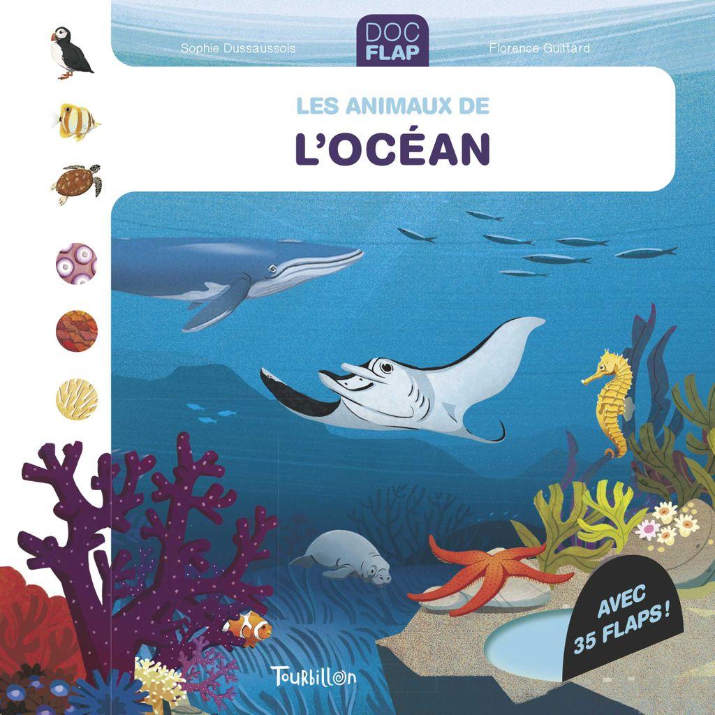 Couverture de «Les animaux de l'océan»