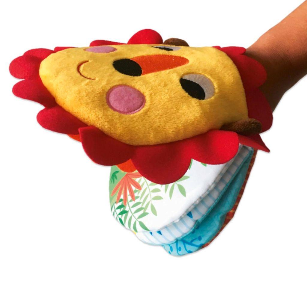 Couverture de «Mon lion marionnette»