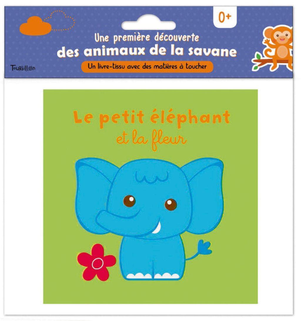 Couverture de «Le petit éléphant et la fleur»