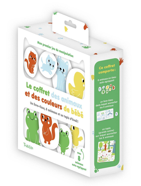 Couverture de «Le coffret des animaux et des couleurs de bébé»