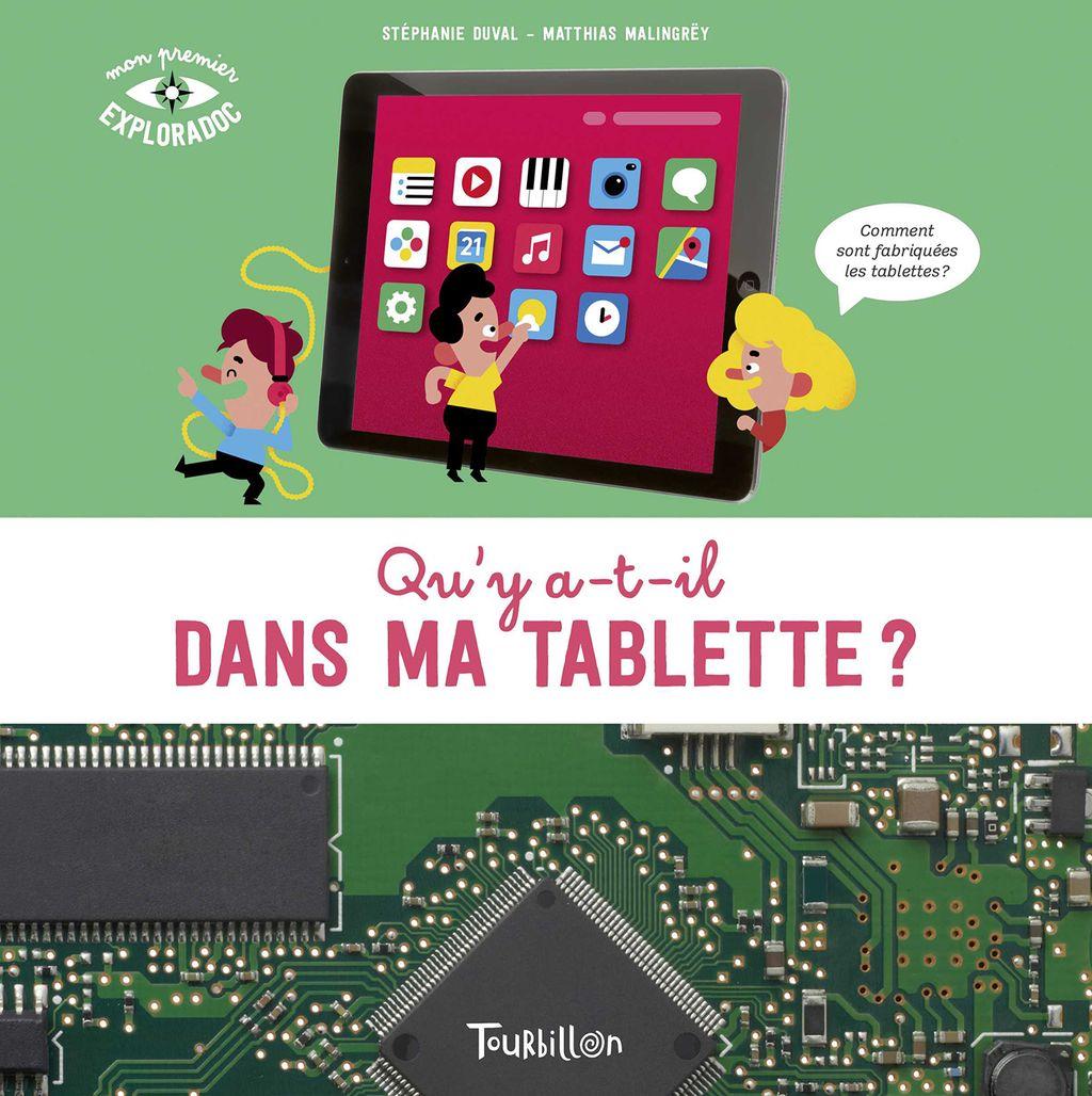 Couverture de «Qu'y a t-il dans ma tablette ?»