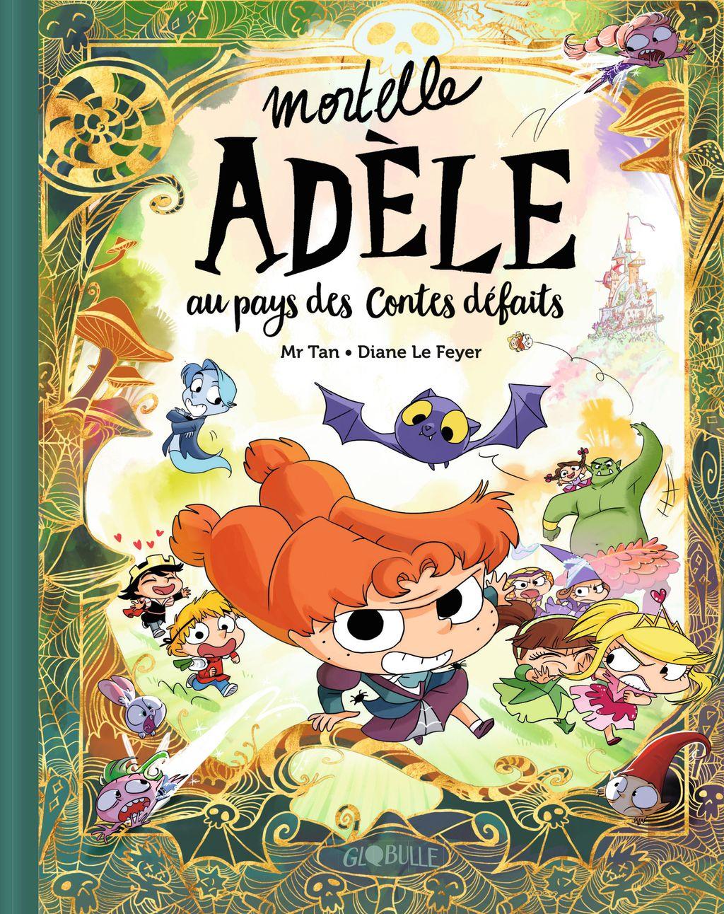 Couverture de «Mortelle Adèle au pays des contes défaits – tome collector»