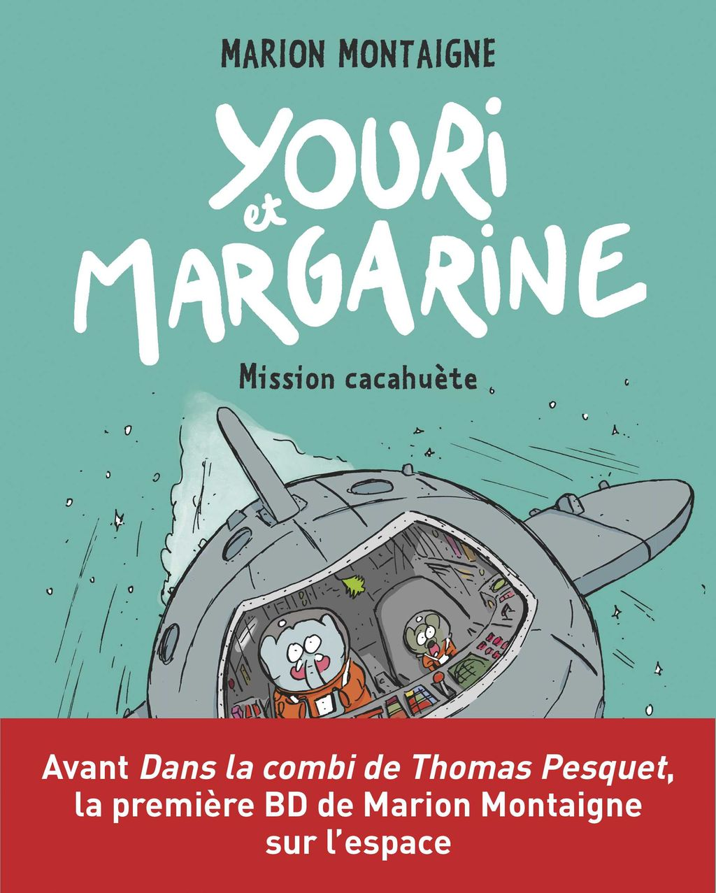 « Youri et Margarine – Mission cacahuète » cover