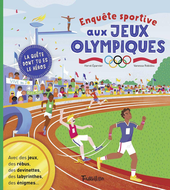 Couverture de «Enquête sportive aux Jeux Olympiques»