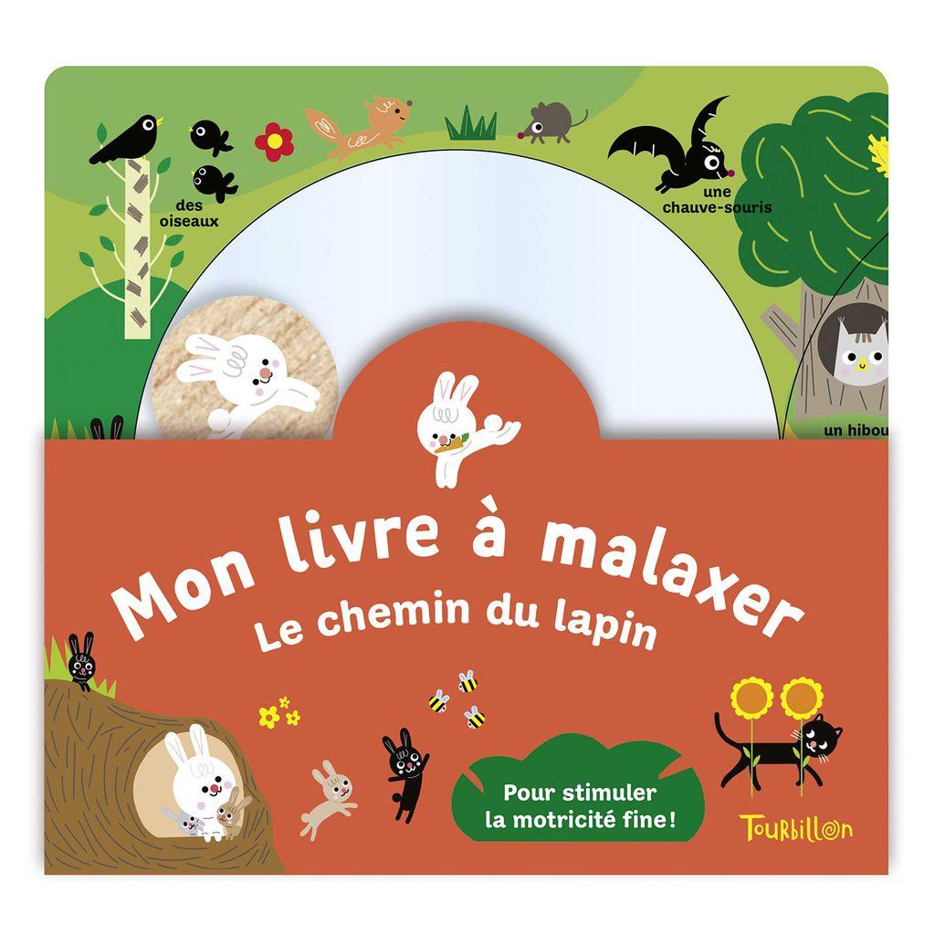 Couverture de «Mon livre à malaxer – Le chemin du lapin»