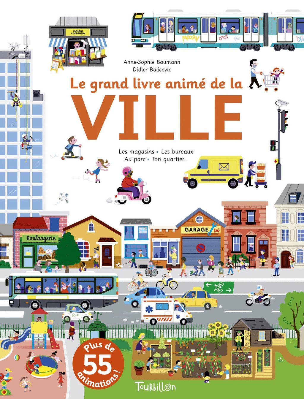 «Le grand livre animé de la ville» cover