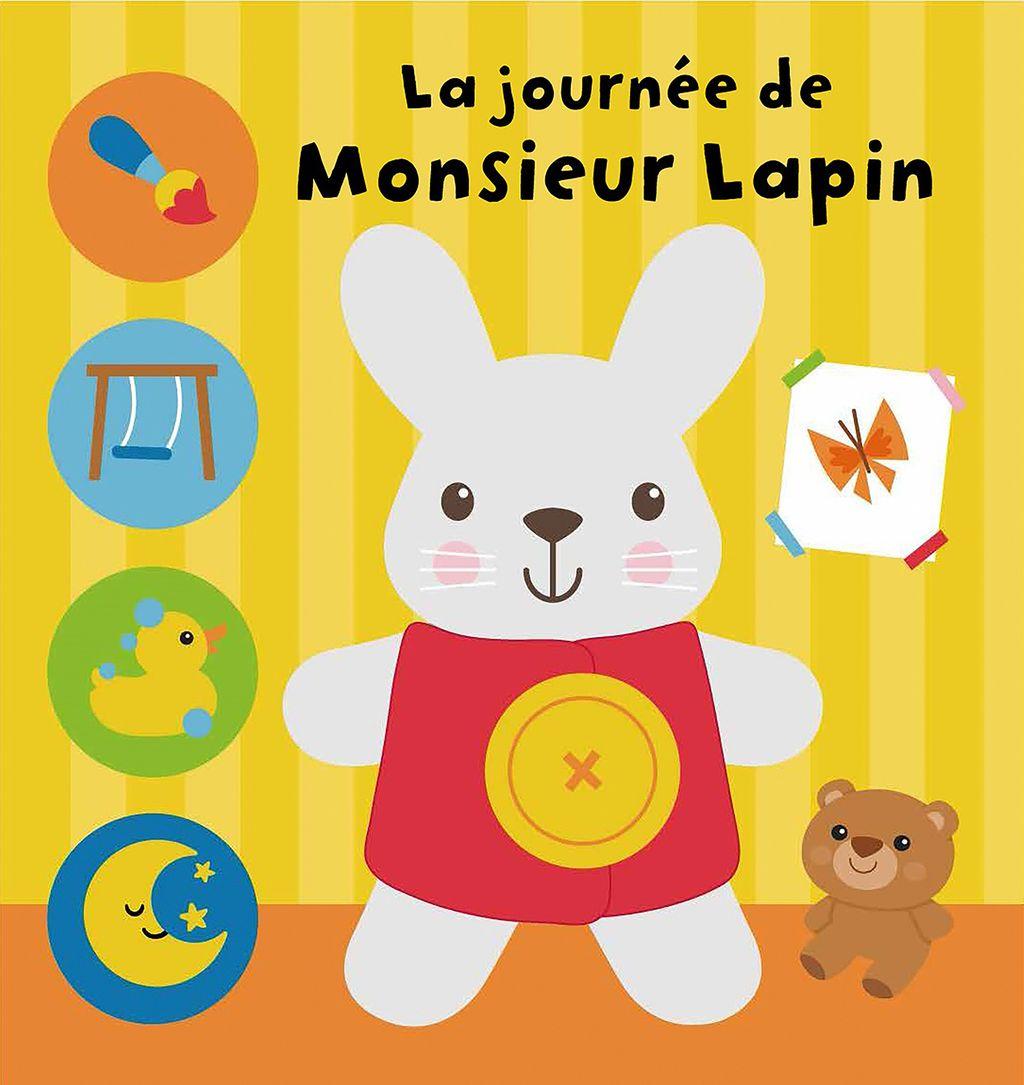 Couverture de «La journée de Monsieur Lapin»