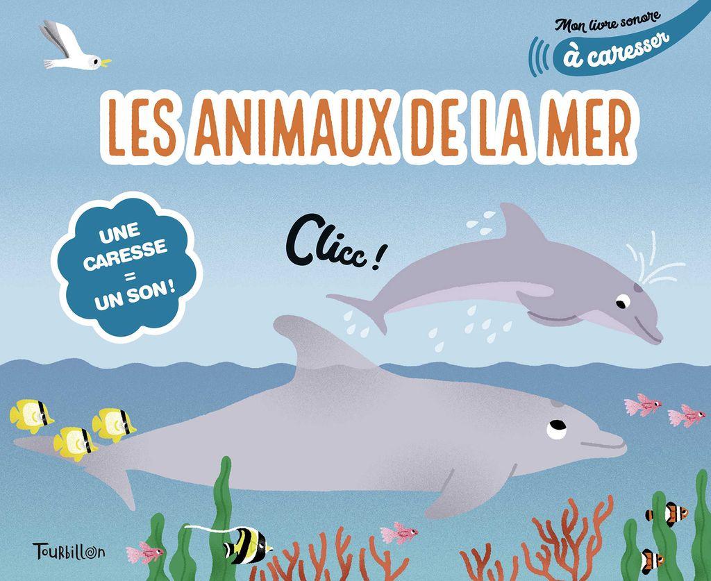 «Mes animaux de la mer à caresser» cover