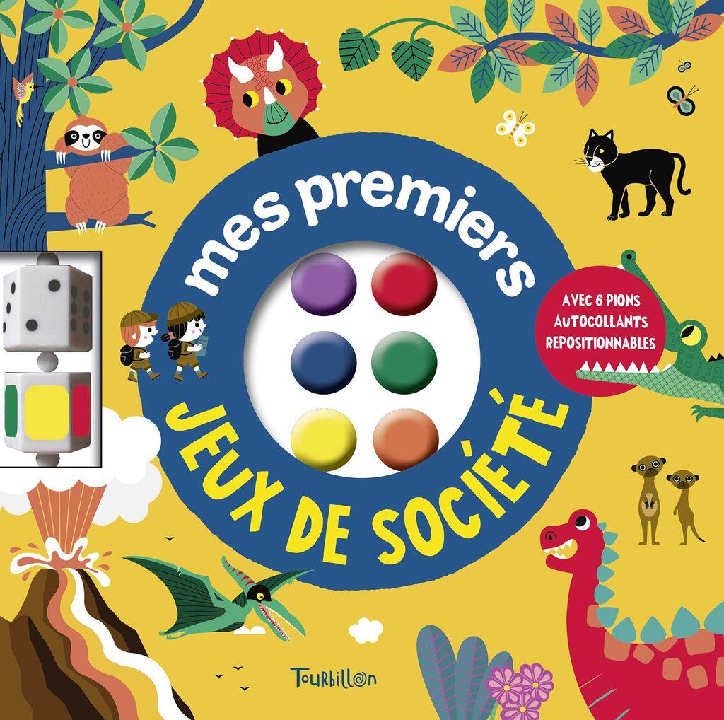 Couverture de «Mes premiers jeux de société»