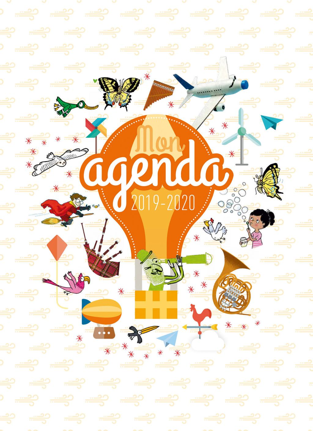 Couverture de «Agenda Scolaire 2019-2020»