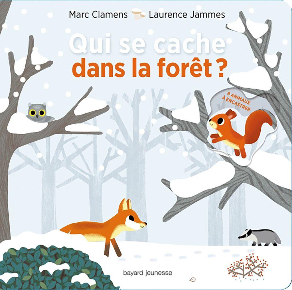 Couverture de «Qui se cache dans la forêt ?»