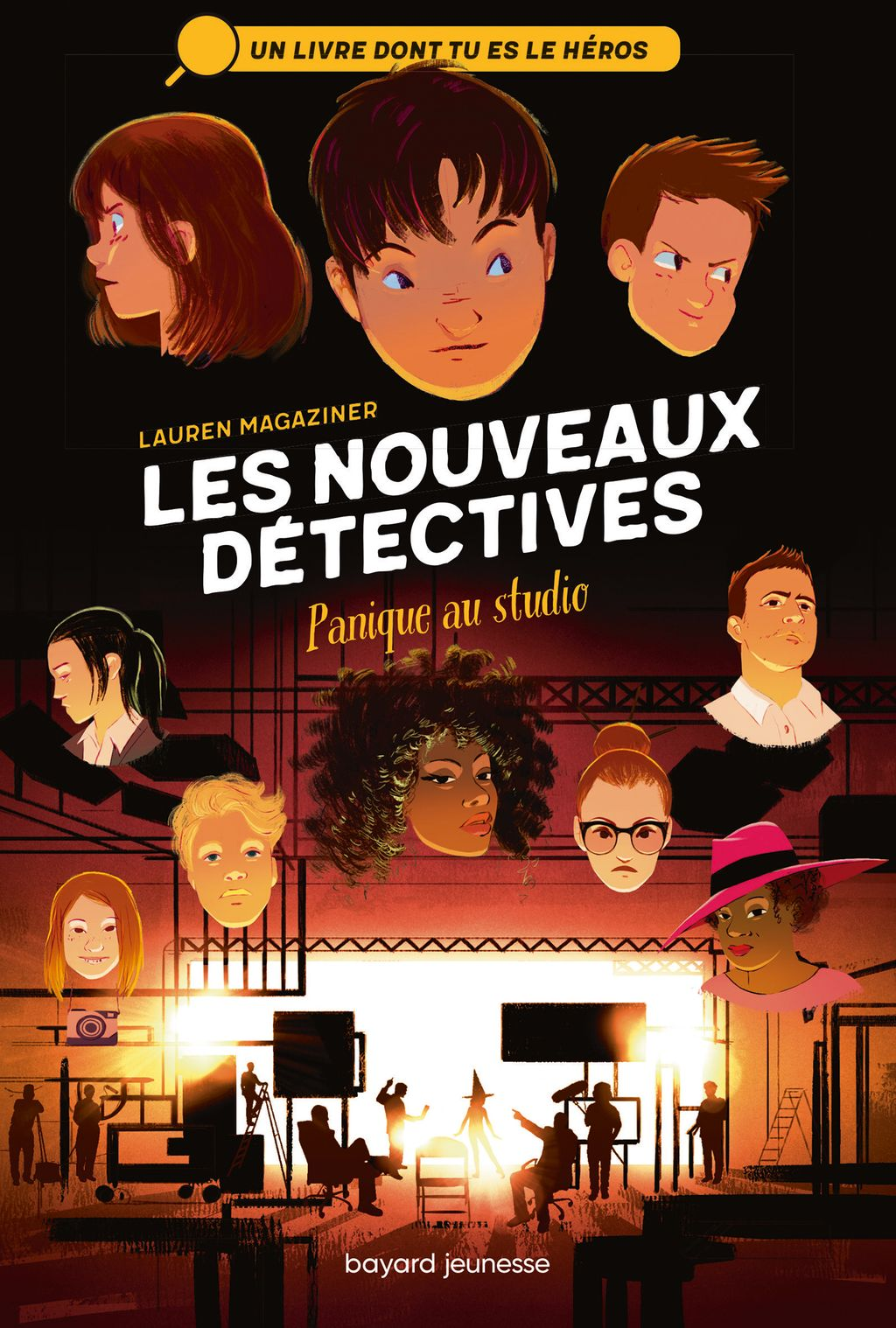 Couverture de « Panique au studio »