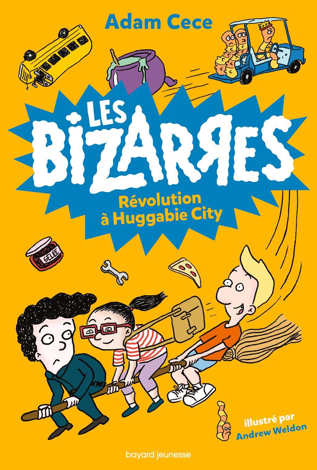 Couverture de «Révolution à Huggabie City»