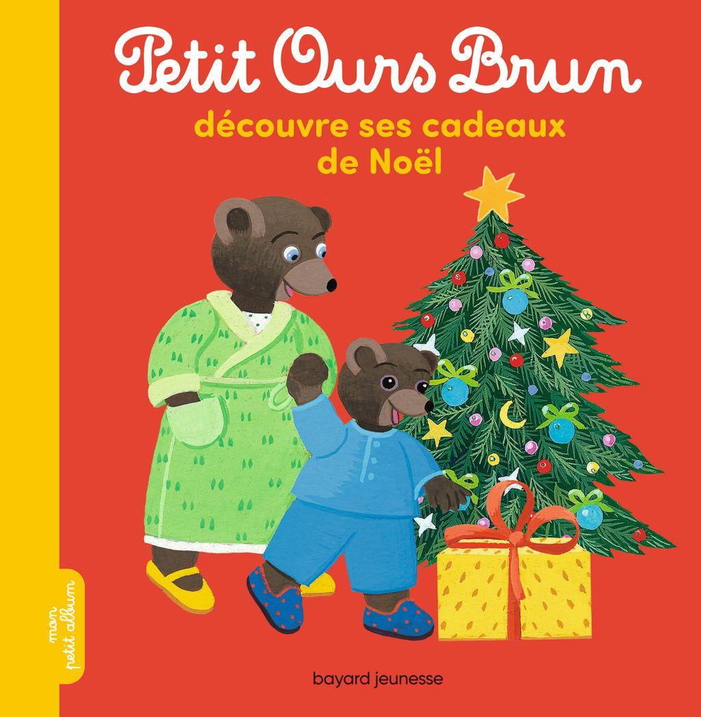 Couverture de «Petit Ours Brun découvre ses cadeaux de Noël»