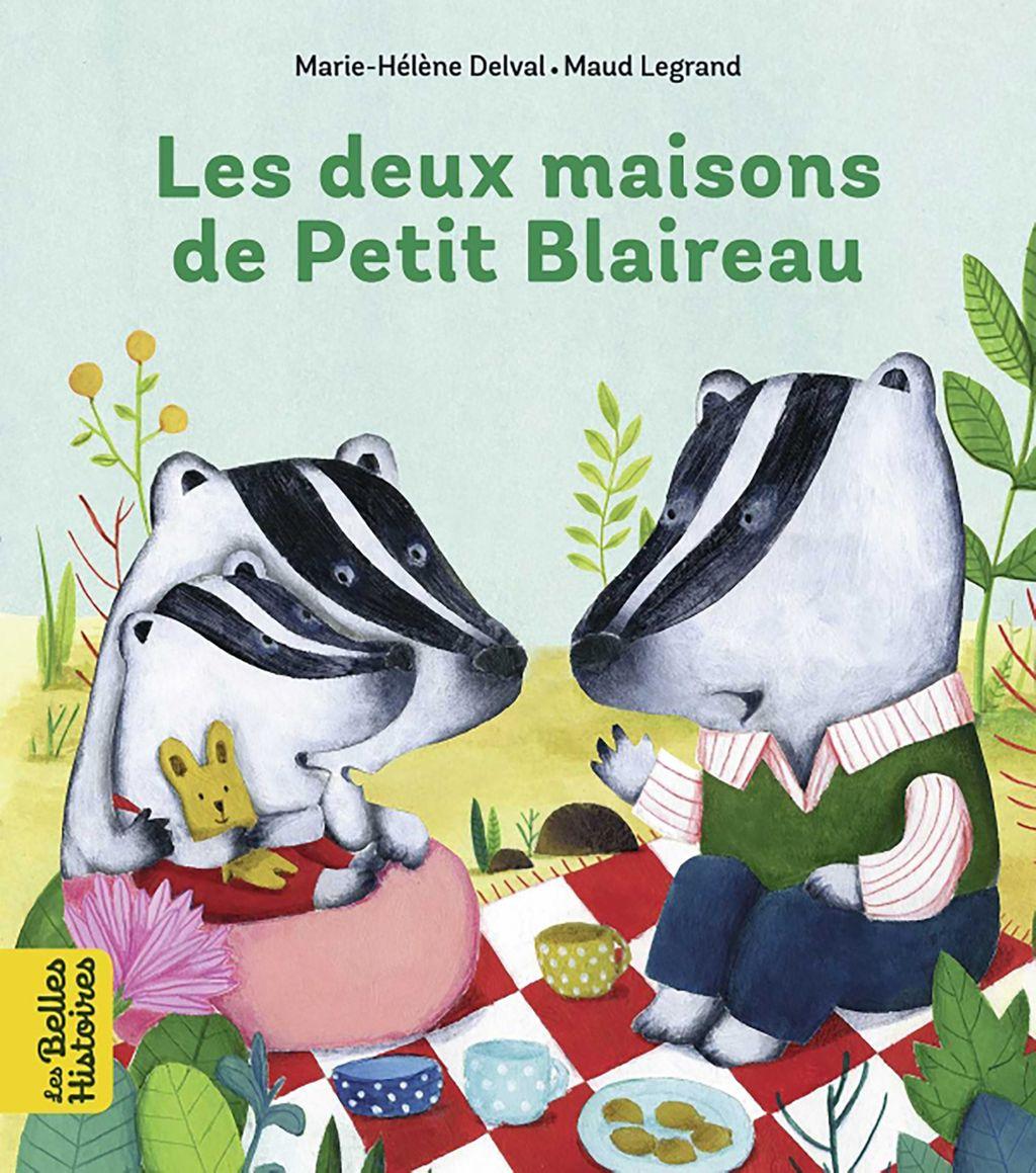 «Les deux maisons de Petit Blaireau» cover