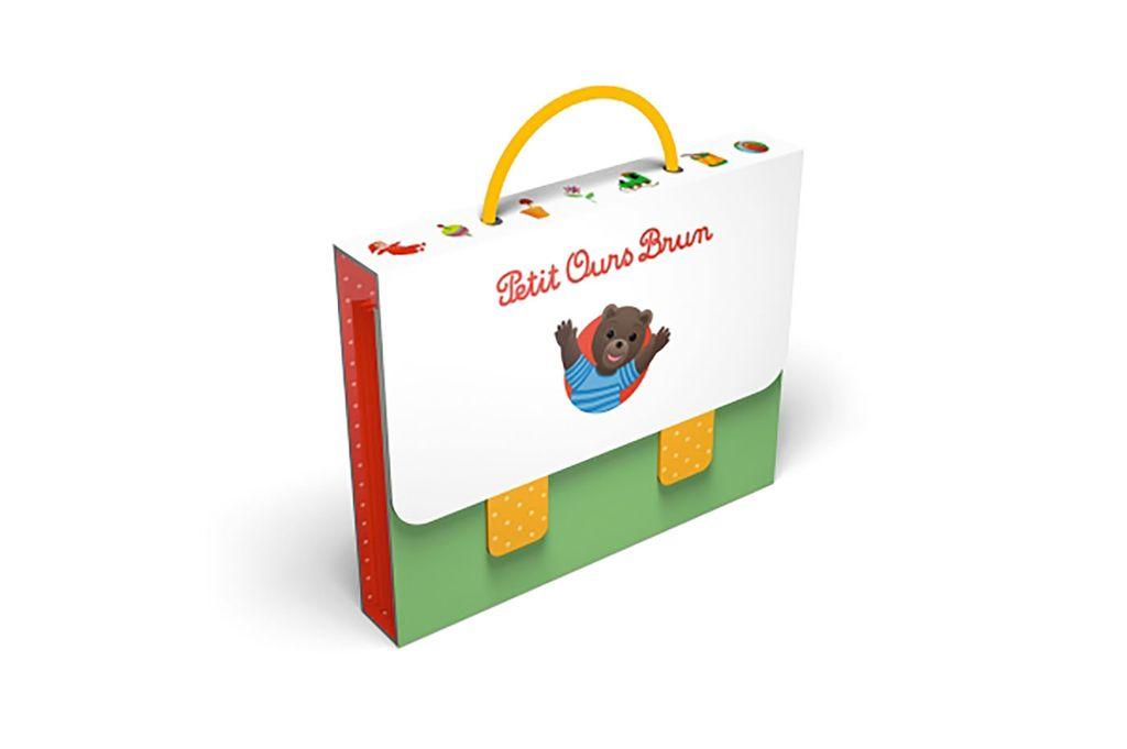 Couverture de «Mon cartable Petit Ours Brun – 6 histoires de Petit Ours Brun»