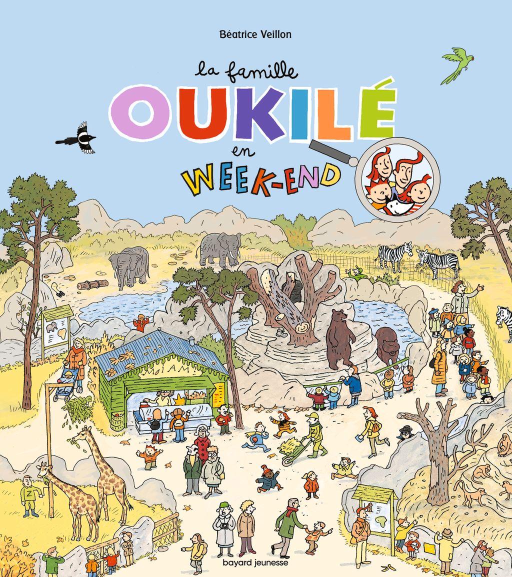Couverture de «La Famille Oukilé en week-end»