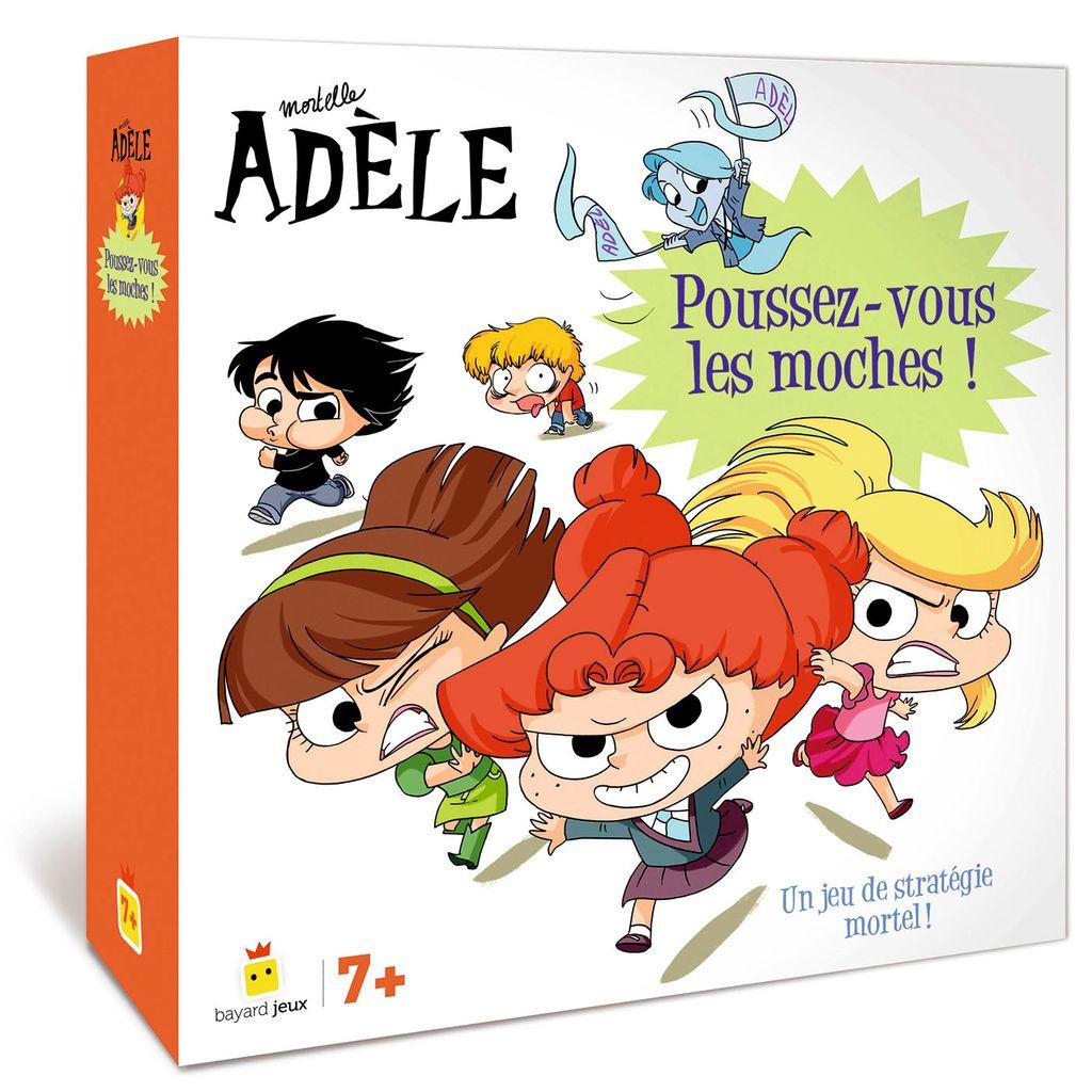 Couverture de «Jeu Mortelle Adèle – Poussez-vous les moches !»