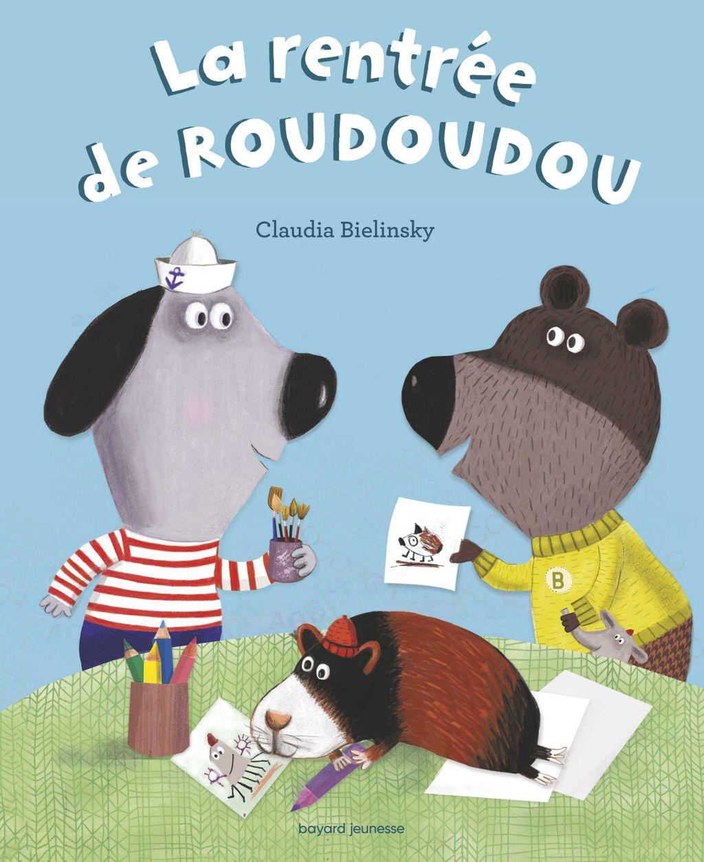«La rentrée de Roudoudou» cover