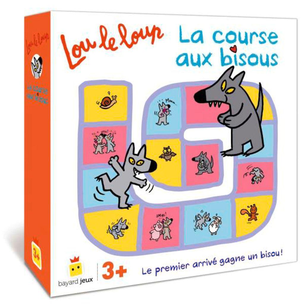 Couverture de «Lou le loup – La course aux bisous»