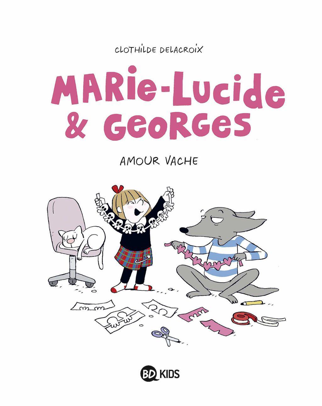 Couverture de «Marie-Lucide et Georges»