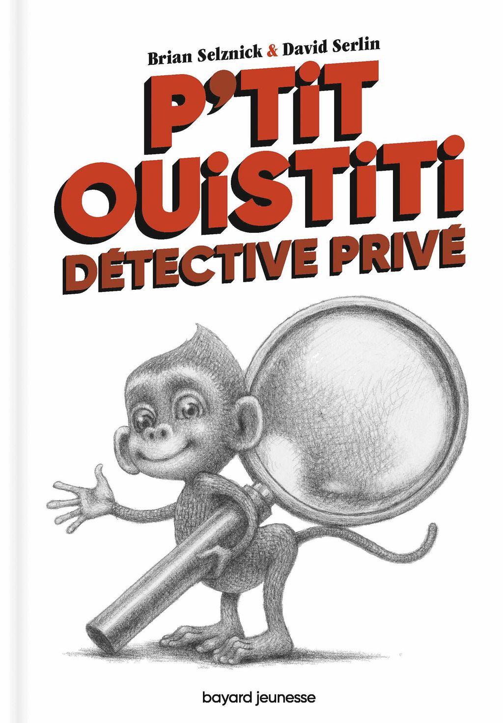 Couverture de «P'tit Ouistiti, détective privé»