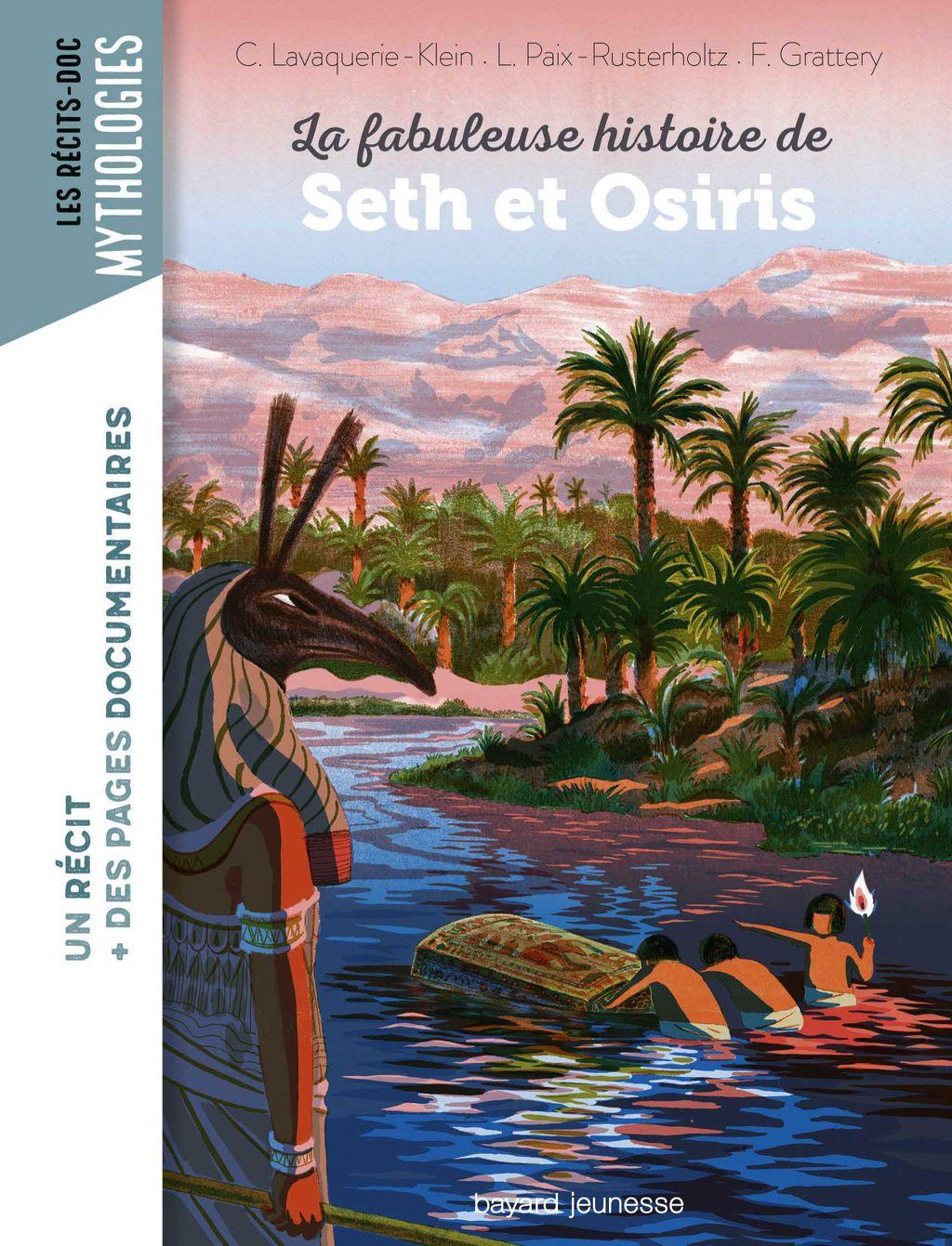Couverture de «La fabuleuse histoire de Seth et Osiris»