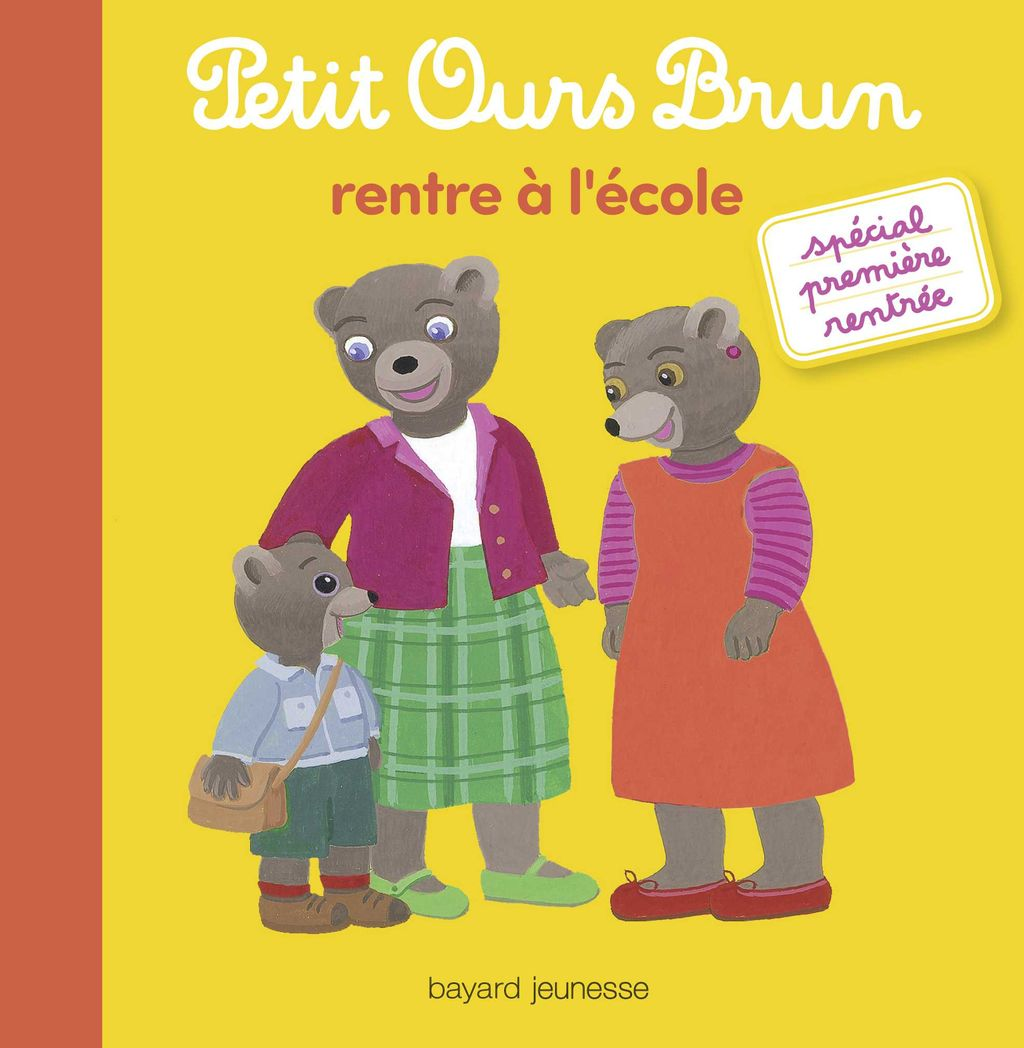 Couverture de «Petit Ours Brun rentre à l'école»