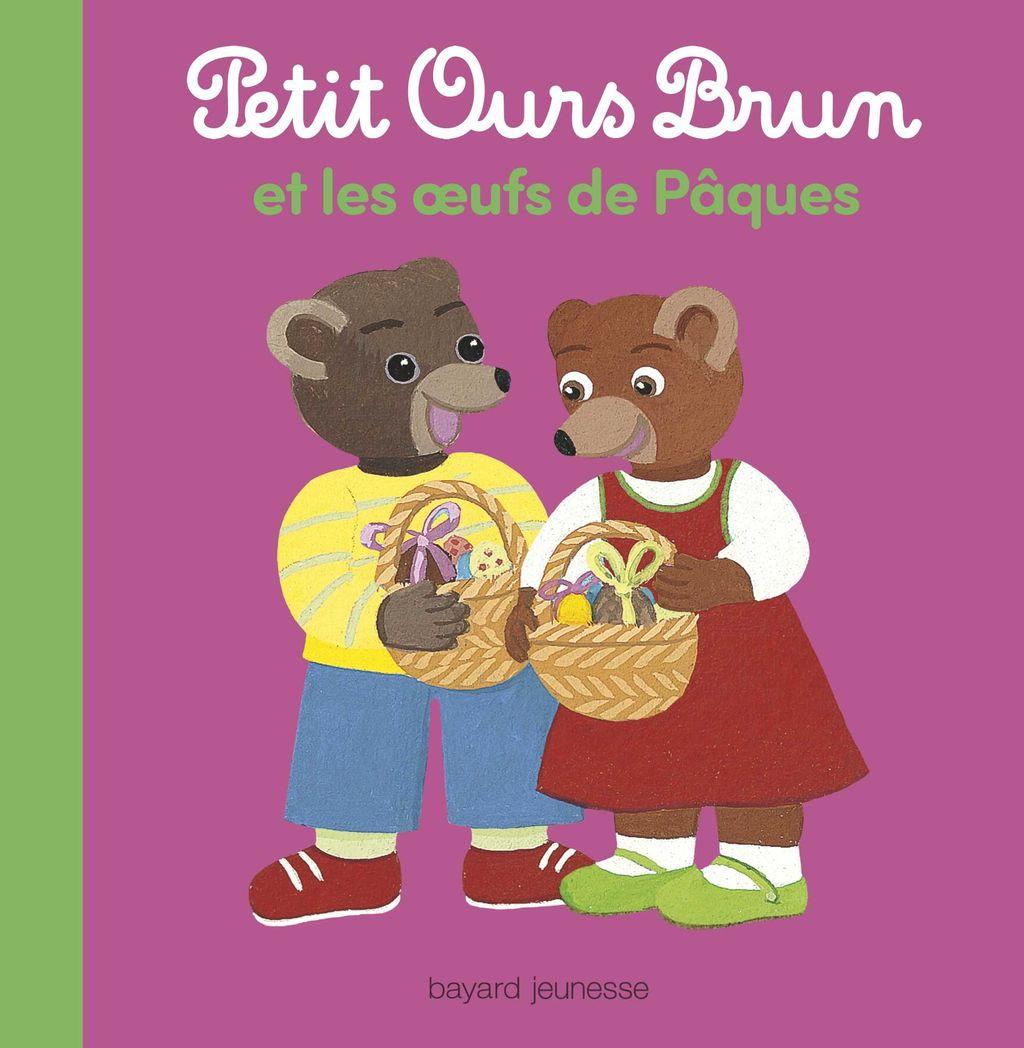 Couverture de «Petit Ours Brun et les oeufs de Pâques»