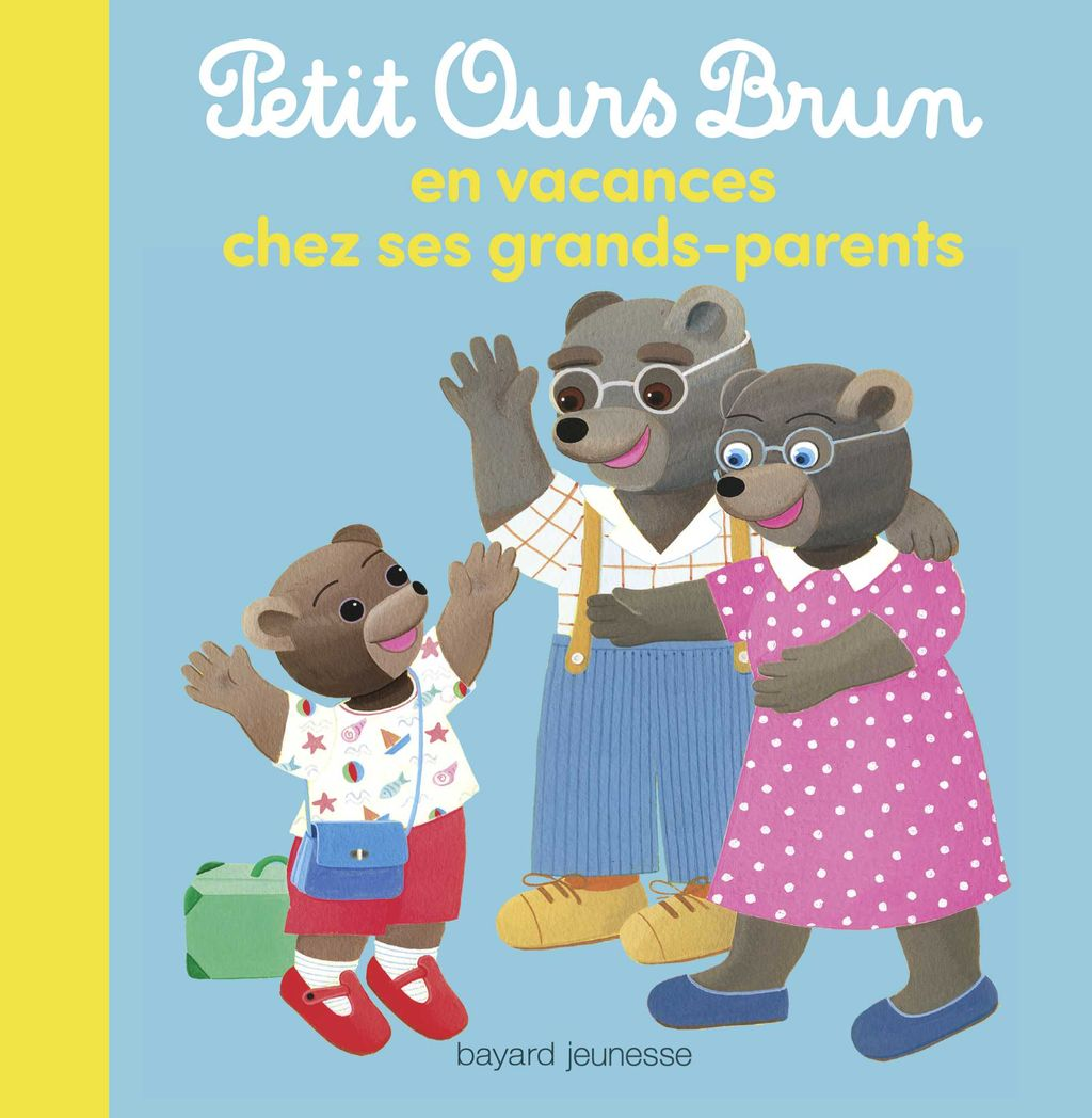 Couverture de «Petit Ours Brun en vacances chez ses grands-parents»